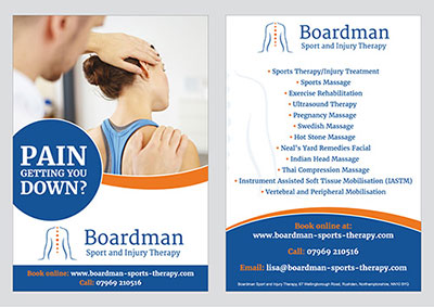Leaflets for all types of businesses