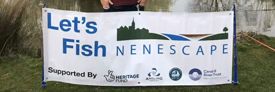 A PVC banner for Nenescape