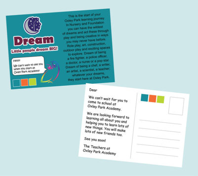 Postcards for a Primary School