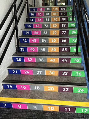 Times-table-number-grid-stair-graphics-for-Primary-and-Junior-Schools